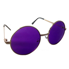 Runda John Lennon-solglasögon med lila glas - Design nr. 1000 5221b59cf3e9b