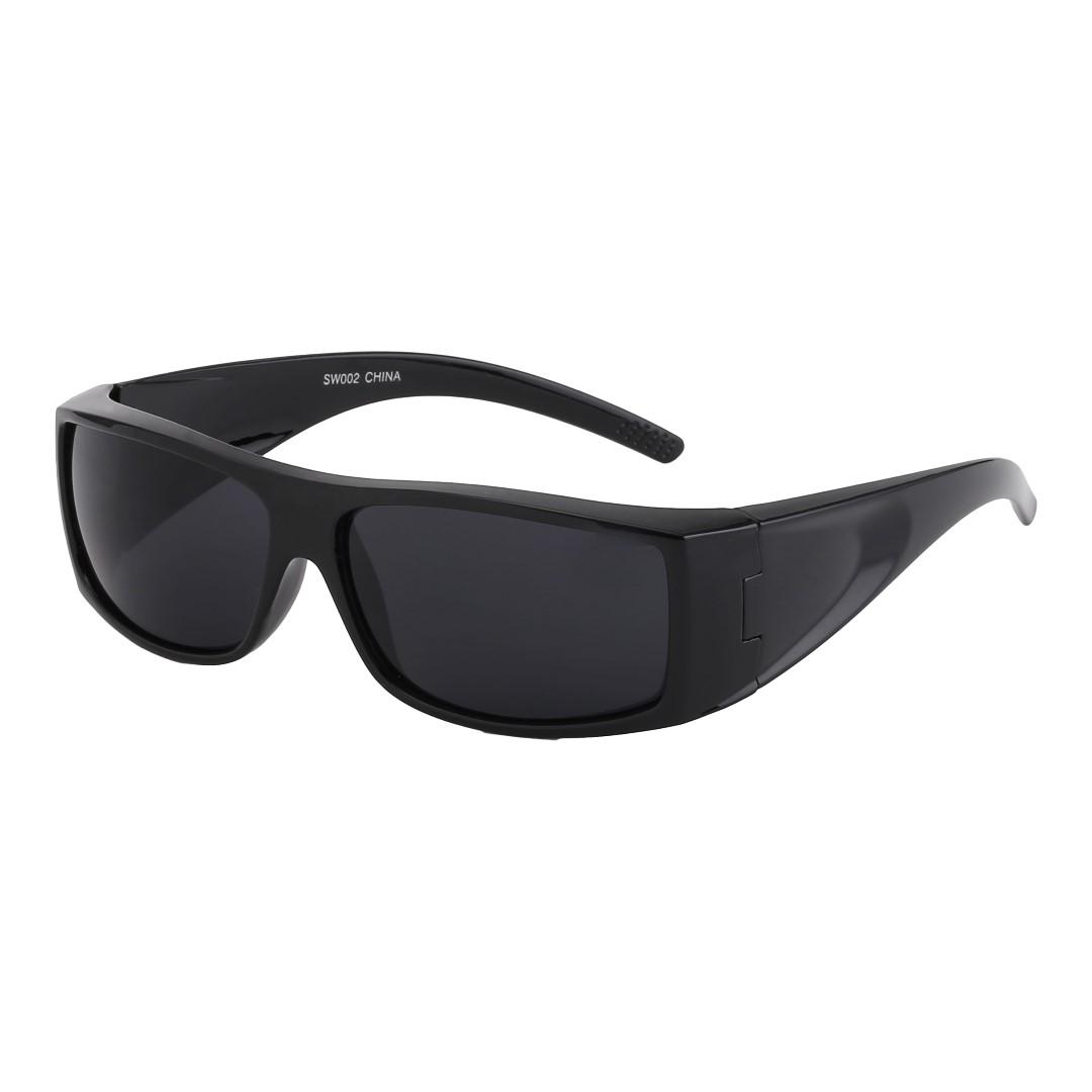 Svarta maskulina solglasögon till män - Design nr. 3206 e235fac13a0fc
