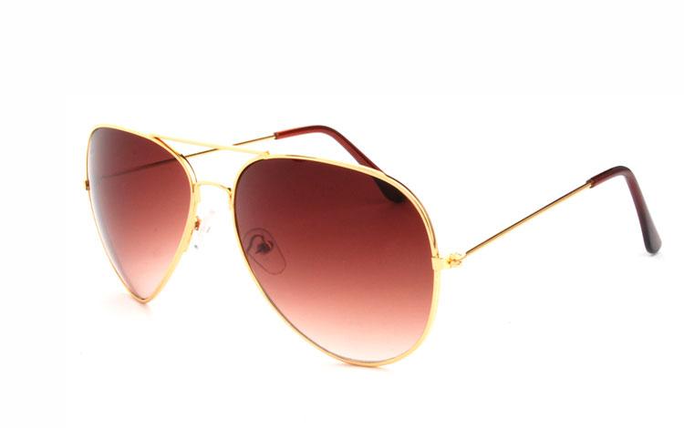 Aviator   Pilot-solglasögon i guld - Design nr. 479 1e43b41905df2