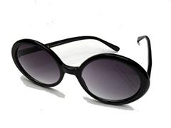 Stora svarta runda solglasögon - Design nr. 1011 c6892093f4e2a