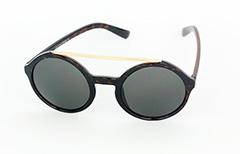 Stora solglasögon i mörk sköldpaddsbrun - Design nr. 1059 4d58473e2b40e