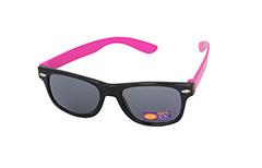 Barnsolglasögon i Wayfarer-modell i svart   rosa - Design nr. 1096 99664bac032c5
