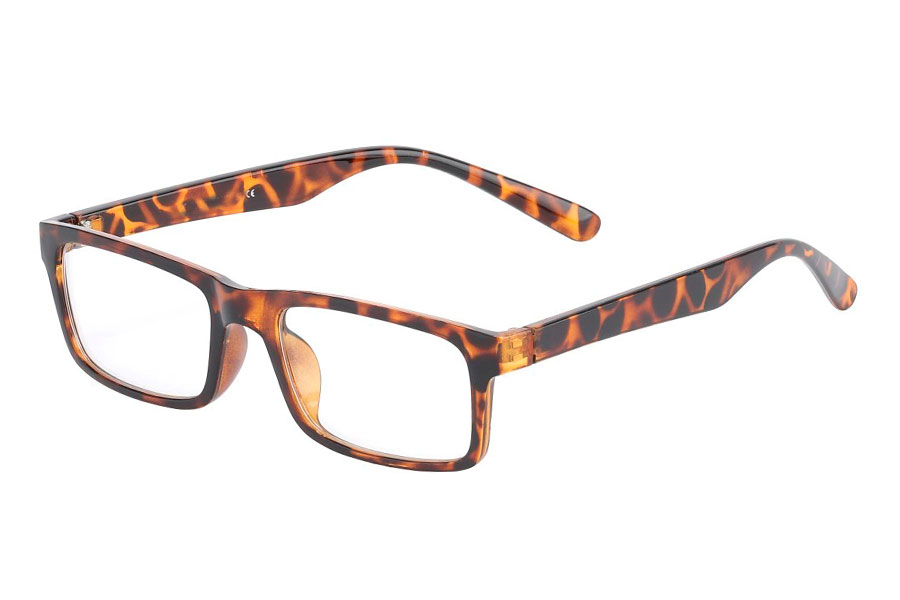 Sköldpaddsbruna glasögon utan styrka - Design nr. 3015 dd7ba223abe0f